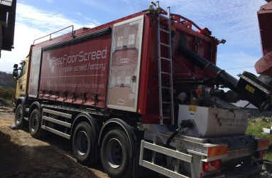 Mobile Screed Factory CE marked Alpha Screed_Fast Floor Screed Ltd