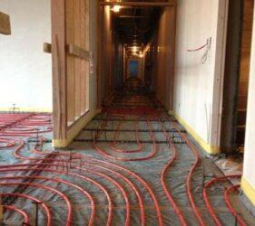 Fast Floor Screed_Bray Nursing Home_Levels Set