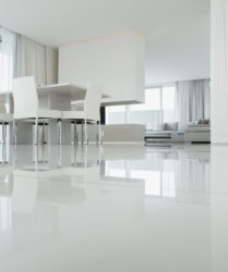 SMET QUALITY WHITE MODERN FLOOR