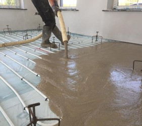 Self Levelling Floor Screed
