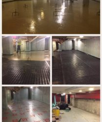 Emerald Casino Eden Quay Fast Floor Screed self levelling screed with The Damp Doctor