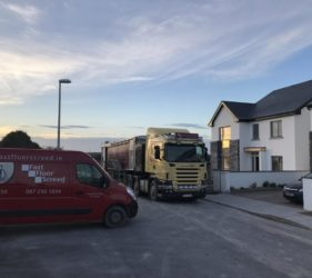 Fast Floor in Galway for Bridgemore Construction