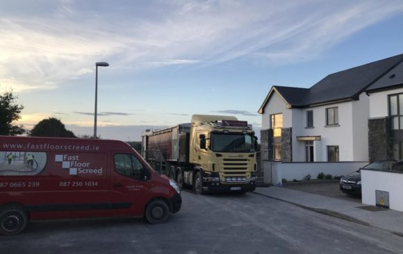 Fast Floor in Galway for Bridgemore Construction