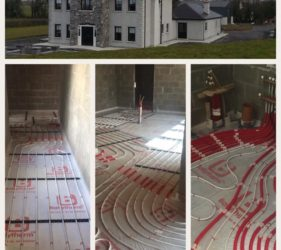 Fast Floor Screed Ltd_Cooldine construction_alpha hemihydrate_ 50mm screed over UFH