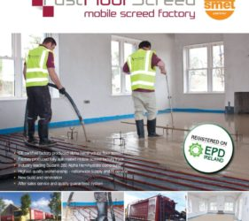 Fast Floor Screed EPD regsitered on EPD Ireland