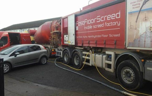 Devine Building Services Ltd_ Alpha Hemihydrate in Drumcondra Dublin_Fast Floor Screed ltd