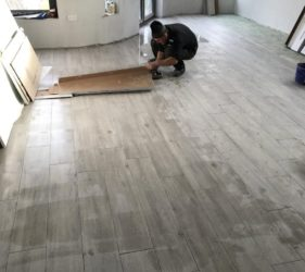 Fast Floor Screed_ UFH ran at 35 degrees for 7 days screed below 0.5%