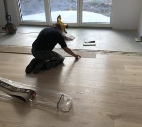 Fast Floor Screed_ UFH run at 35 degrees for 7 days screed below 0.5%