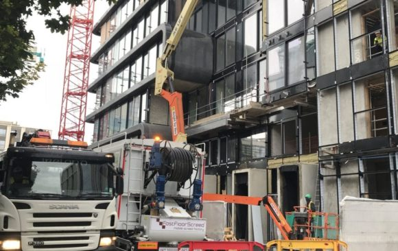 Cairn Plc in Hanover quay_suitable for apartments_poured by Fast Floor