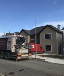 Castleoaks_New Semi detatched Homes_JC Brenco_Fast Floor Screed Mobile Screed Factory