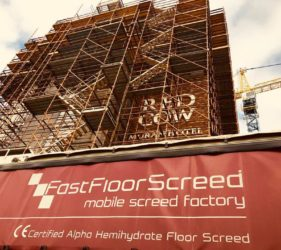 Red Cow Moran Hotel_Fast Floor screed Ltd_screeding for apartments and hotels