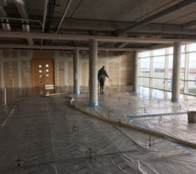 auralia clinic_NA Rapid Dry_flowing CE marked Screed_Fast Floor Screed