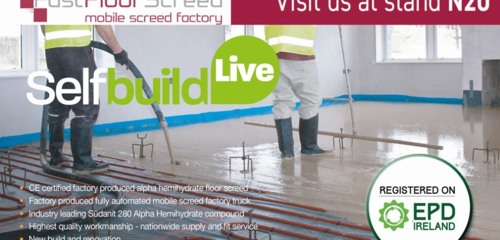 Fast Floor Screed Ltd_Self Build Live Sept 2019 - stand N20