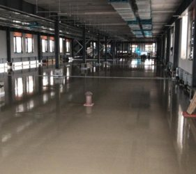 Tallagh Hospital_Floor Screed pour _ Fast Floor Screed