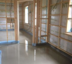First floor Timberframe with Fast Floor Screed Acoustic flooring solution _ 40mm Alpha Hemihydrate Screed
