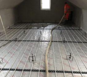SelfBuild Co Carlow_Fast Floor Screed Ltd_ 169 m2_Alpha Hemihydrate screed over UFH