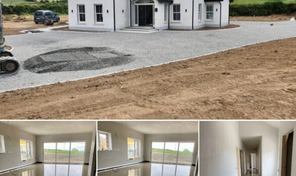 Fast Floor Screed Ltd_alpha hemihydrate screed_New floor_Co Laois_260m2