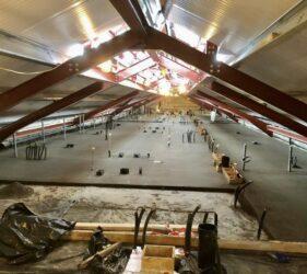 20,000 m2 Rapidur® B5 Rapid Drying Floor Screed_B Doherty Screeding Services