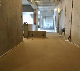 CE Marked, EPD Certified self-levelling floor screed The National Mental Health Hospital