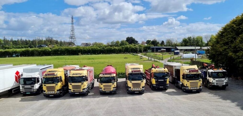 Fast Floor Screed Truck Fleet 2021
