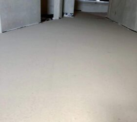 Fast Floor Screed _CE Marked, EPD Certified Alpha Hemihydrate floor screed _The National Mental Health Hospital