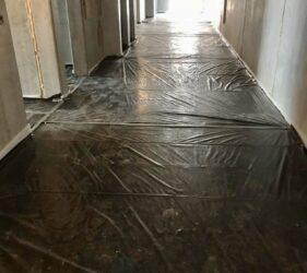 National Mental Health Hospital Portrane _Installation of insulation and Separation membrane